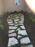 Flagstone,Lanscape Design,Residential,
